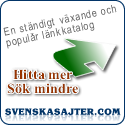 SvenskaSajter.com - gratis länkkatalog för hemsida & blogg