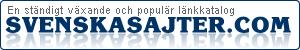 SvenskaSajter.com - gratis länkkatalog för hemsida & blogg